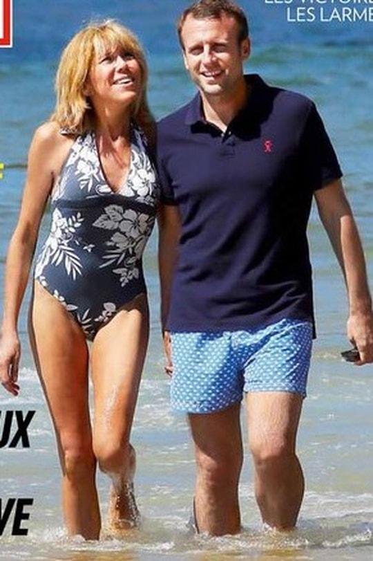 Hơn chồng 24 tuổi, vợ ứng viên Tổng thống Pháp vẫn trẻ bất ngờ - 1