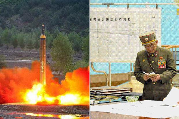 """Bản đồ """"tử thần"""" tiết lộ 4 nơi Triều Tiên nhắm nã tên lửa? - 1"""