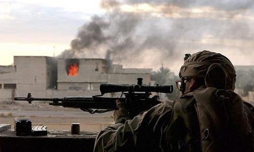 Phát bắn tỉa kinh ngạc trúng cổ phiến quân IS cách 2,4km - 1