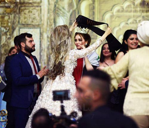 """Hoa hậu Iraq vượt qua """"bão tố"""", đăng quang trong nước mắt - 1"""