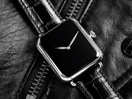 Đồng hồ Thụy Sỹ giá hơn 600 triệu đồng mang bóng hình Apple Watch - 1