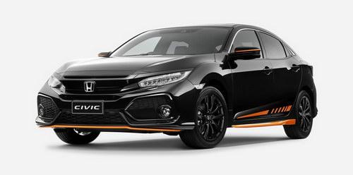 Honda Civic màu cam đặc biệt chỉ giới hạn 100 xe - 1