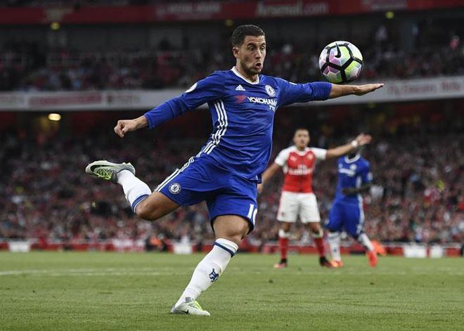 Chuyển nhượng Chelsea: Đổi Hazard lấy 2 sao bự Real - 1
