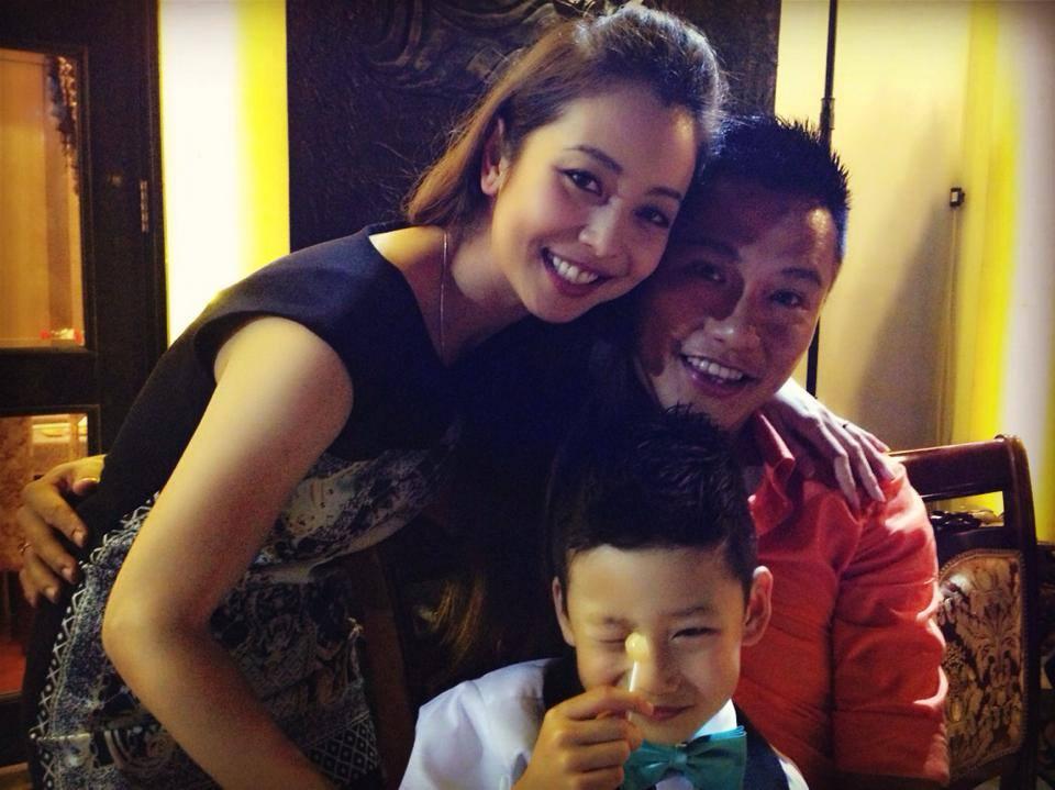 Bất ngờ cách bố dượng đối xử với con riêng của Jennifer Phạm, Kim Cương - 1