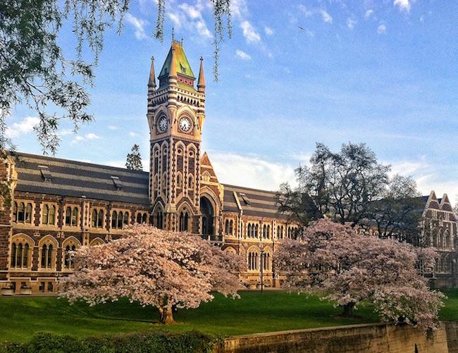 Đại học Otago là 1 trường công lập, tọa lạc tạiDunedin , Otago , New Zealand.