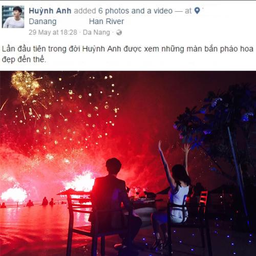 """Lộ danh tính cô gái cực xinh được cho là """"người mới"""" của Huỳnh Anh - 1"""