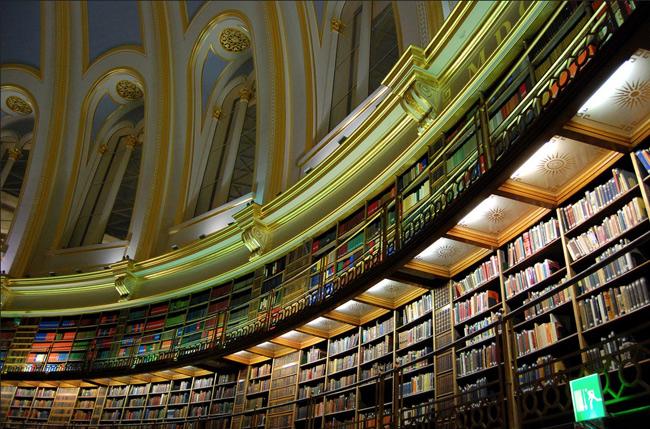 15. Thư viện Parabola, London, Anh