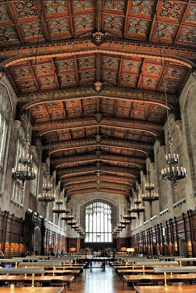 25. Thư viện Đại học Michigan, Mỹ