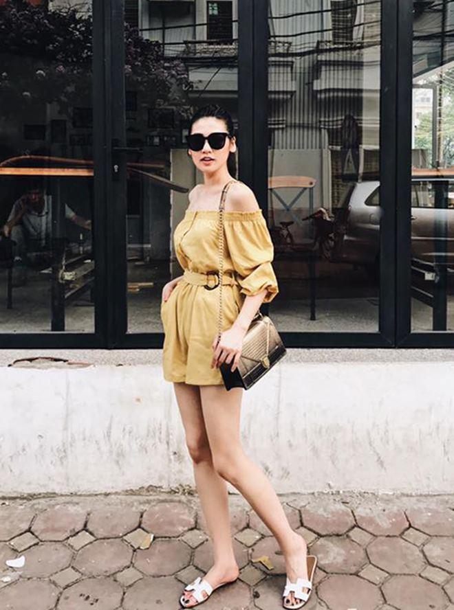 """Hoàng Thùy Linh, Đông Nhi đua nhau diện """"mốt không quần"""" - 3"""