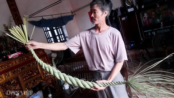Nghề lạ ở Ninh Bình: Ngồi nhà tết đuôi trâu, kiếm chục triệu/tháng - 1