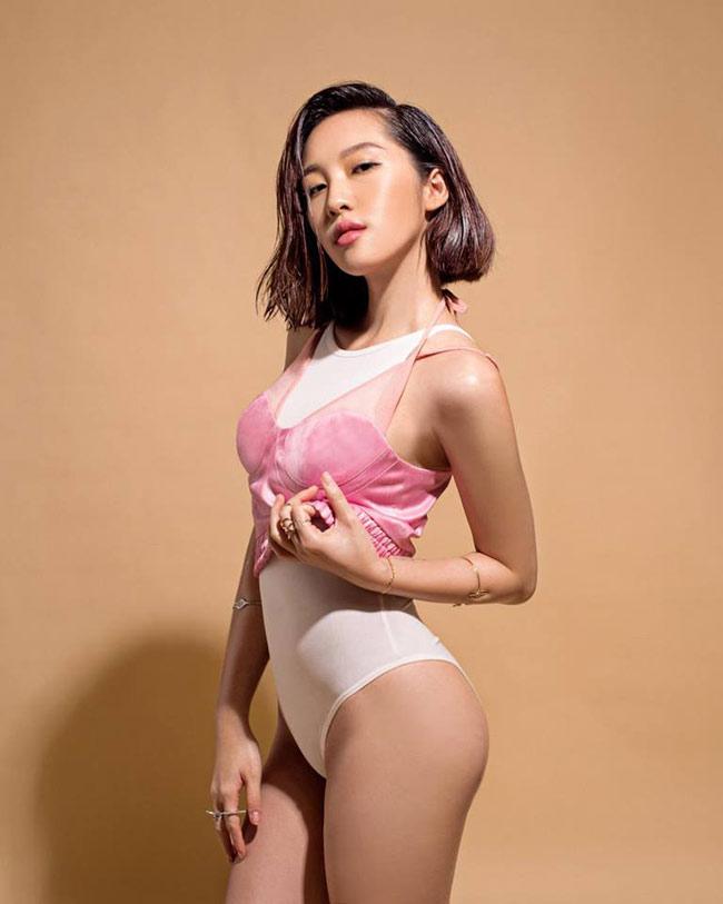 Quánquân Miss Audition theo đuổi hình ảnh sexy, gợi cảm.