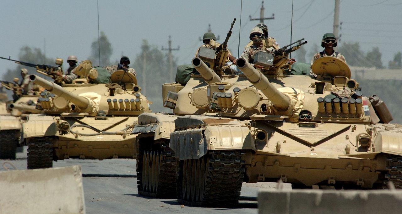 """Chiến tranh vùng Vịnh: """"Bão táp sa mạc"""" vùi dập Iraq - 1"""