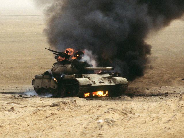 Chiến tranh vùng Vịnh: Trận tăng kinh hoàng với quân Iraq