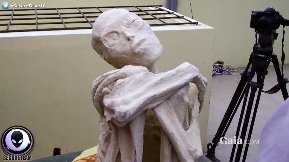"""Tìm thấy """"xác ướp người ngoài hành tinh"""" ở Peru - 1"""