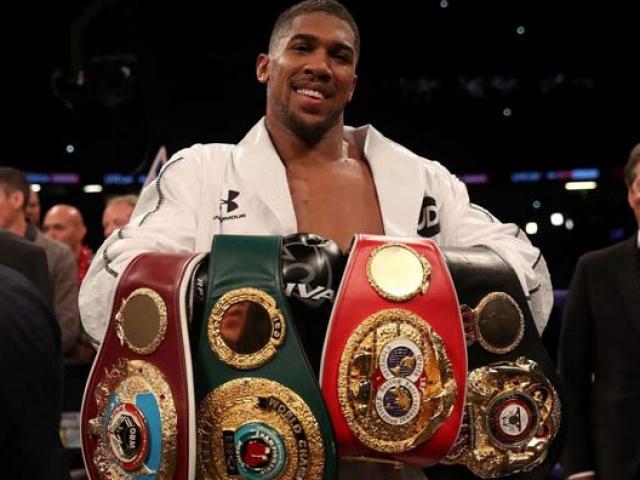 Vua của các vua boxing: Joshua chiến Wilder gom 5 đai vô địch hạng nặng