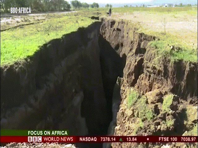 Vết nứt khổng lồ đang tách đôi lục địa châu Phi như thế nào