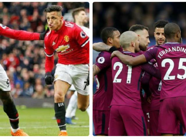 """Tiêu điểm V32 Ngoại hạng Anh: Manchester thắp lửa derby, Conte sắp """"bay ghế"""""""