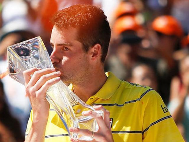 """""""Người khổng lồ"""" Mỹ lần đầu vô địch Masters: Kỷ lục ngang Nadal, vượt Federer"""