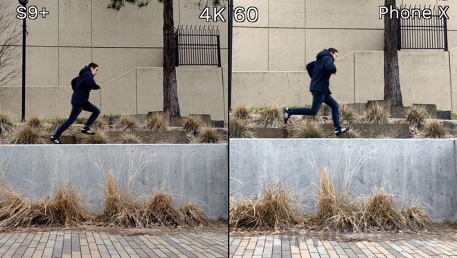 Đọ chất lượng quay video giữa iPhone X và Galaxy S9+ - 1