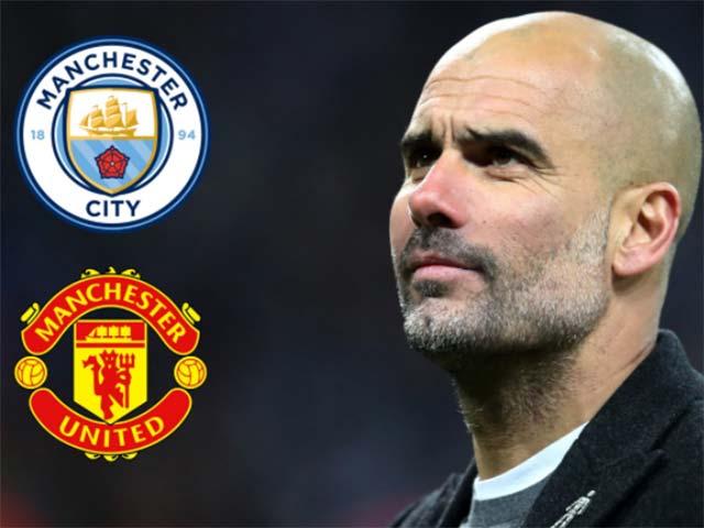 """Derby Manchester: Guardiola trái ý học trò, Man City """"thả"""" MU thắng?"""
