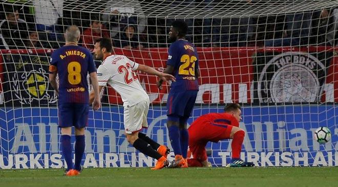 """""""Mỏ neo"""" Busquets trở lại: Barca """"hổ mọc thêm cánh"""" đấu Roma - 1"""