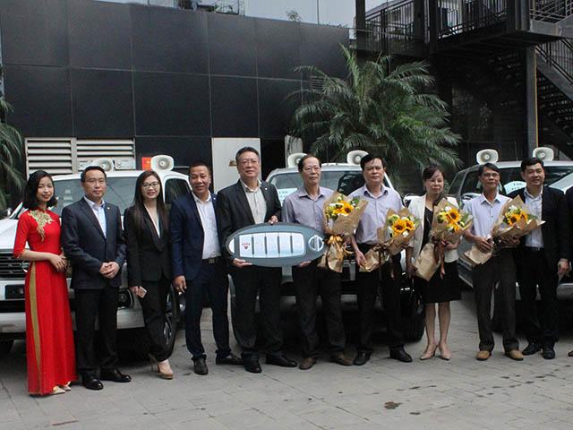Trung tâm phát hành phim và chiếu bóng toàn quốc tiếp nhận lô xe Nissan Navara SL