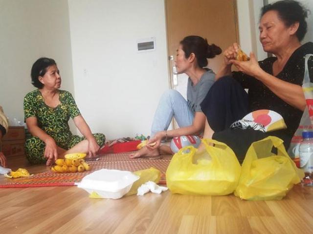 Hậu vụ cháy chung cư làm 13 người chết: Vật vờ nơi lánh nạn