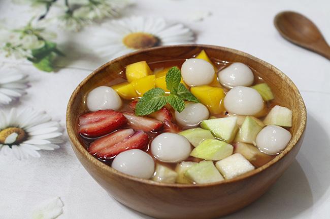 """Chè hoa quả trân châu vừa ngon vừa mát lại quá đẹp để """"sống ảo"""" - 1"""