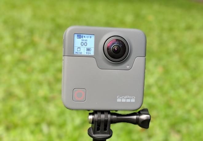 GoPro giới thiệu camera hành trình quay phim 360 độ nét chưa từng có - 1