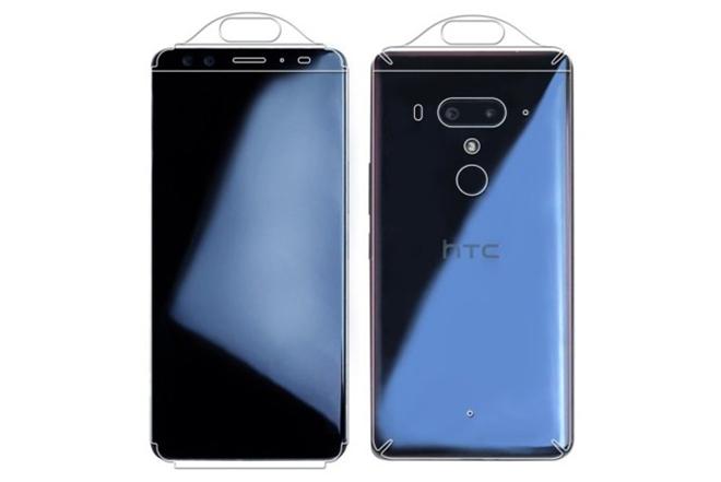Vỏ HTC U12+ chính thức xuất hiện cho thấy 4 máy ảnh - 1