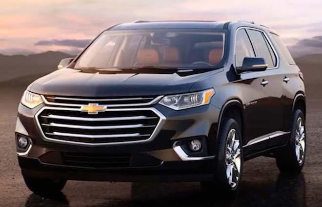Bảng giá xe ôtô Chevrolet Việt Nam cập nhật tháng 3/2018 - 1