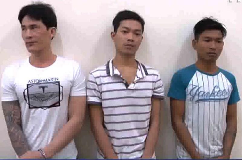Nhóm cướp Đồng Nai dùng súng lấy 27 tấn hàng - 1