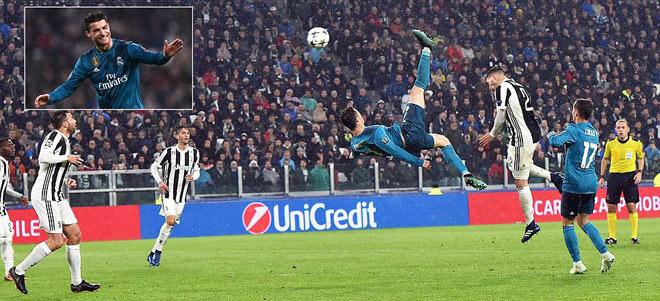 """Ronaldo lập siêu phẩm """"xe đạp chổng ngược"""": Hỏng trăm lần, ăn một lần - 1"""