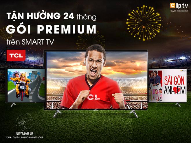 Nhận ngay 24 tháng sử dụng Clip TV trên Smart TV TCL - 1