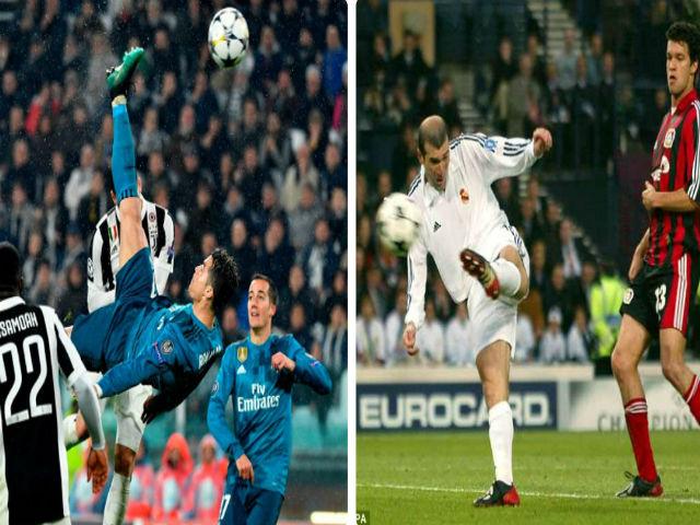 Ronaldo lập tuyệt phẩm, CĐV tán thưởng: Đẹp nhất cúp C1, phải vượt Zidane