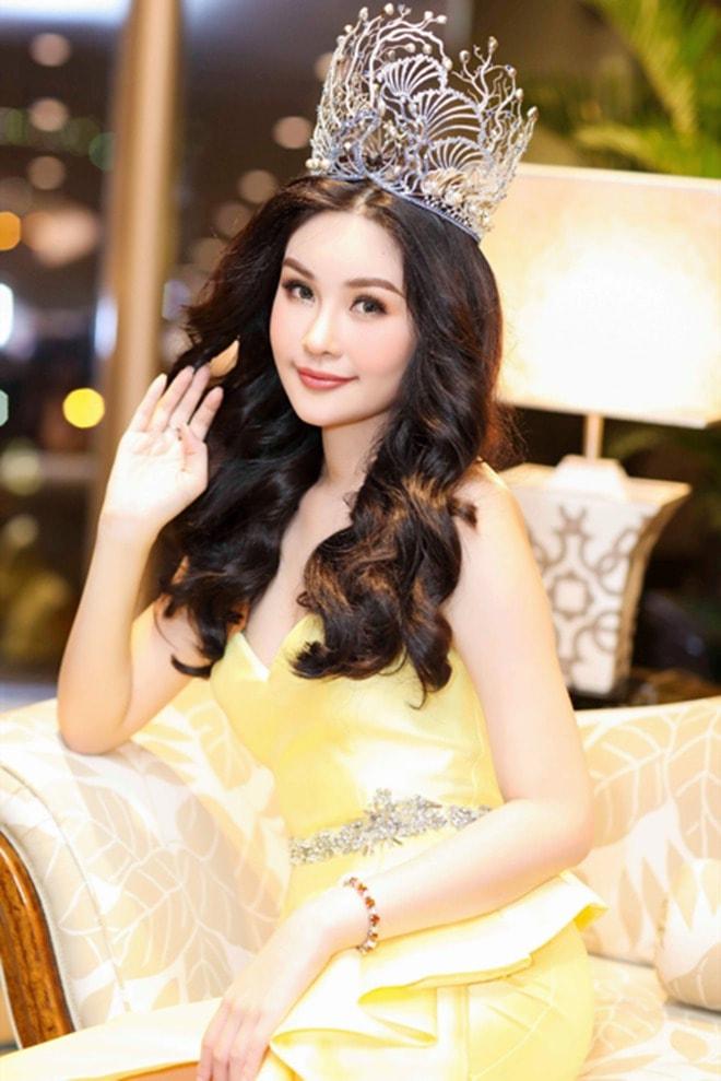 Sau bao sóng gió, Ngân Anh vẫn đội vương miện Hoa hậu Đại Dương - 1