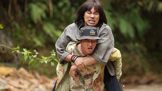 Huy Khánh gặp vận đen khi cõng Kiều Minh Tuấn đóng phim suốt một tháng - 1