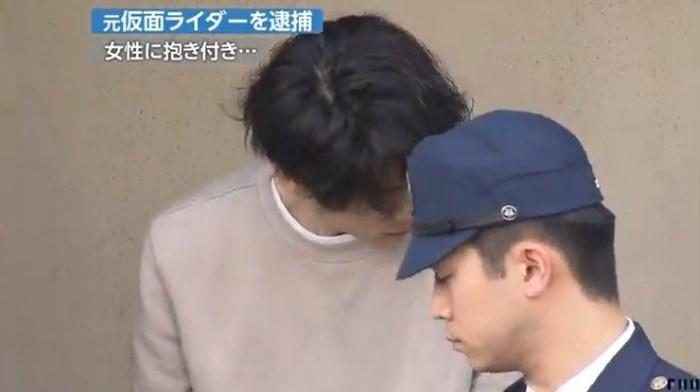 Tài tử Nhật Bản bị bắt vì xâm hại tình dục 4 người phụ nữ trên đường phố - 1