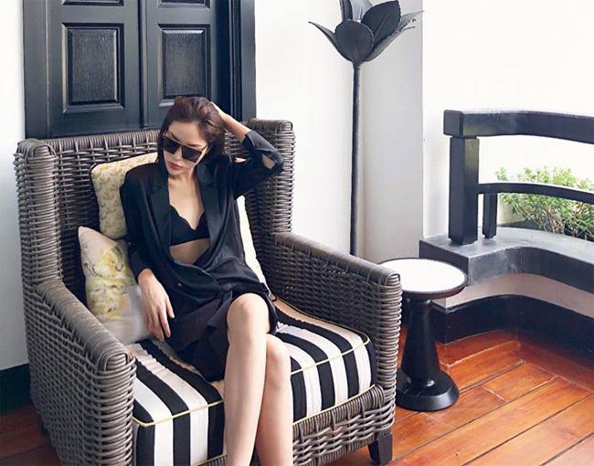 Kỳ Duyên đăng quang Hoa hậu Việt Nam 2014, khi ấy, nhan sắc của cô có nhiều điểm khác biệt so với bây giờ.