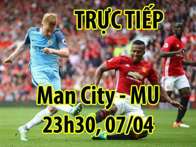 TRỰC TIẾP bóng đá Man City - MU: Bất ngờ từ Mourinho, Pep