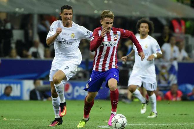 Derby Madrid: Nghi án Real – Ronaldo nhường 3 điểm, đổi Griezmann - 1