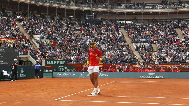 Nadal – Kohlschreiber: Màn tái xuất của nhà Vua (Tứ kết Davis Cup) - 1