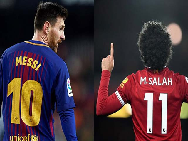 Messi và Salah đấu Giày vàng: Lập hat-trick, rượt đuổi sát nách