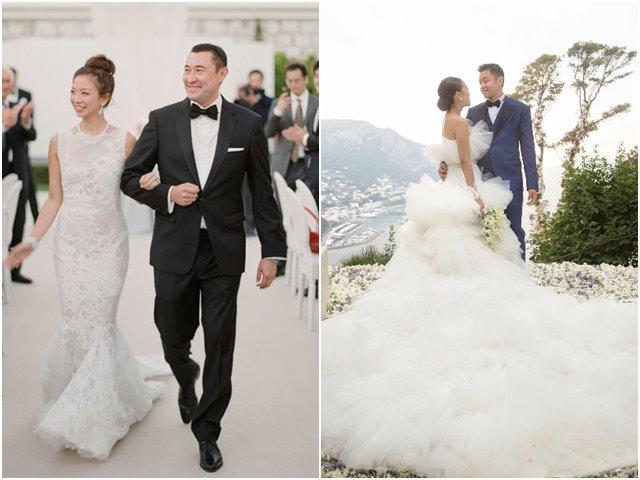 Những chiếc váy cưới sang chảnh của hội con nhà giàu Hong Kong