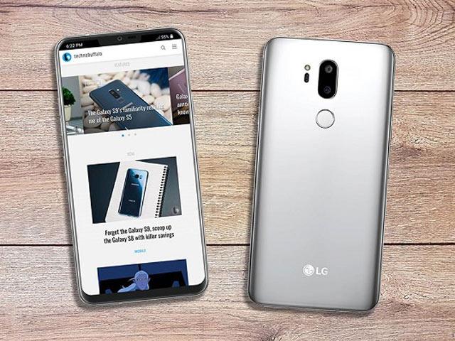 LG G7 lần đầu hiện hình trong vỏ bảo vệ