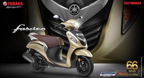 Xe ga giá rẻ Yamaha Fascino 2018 nhận màu áo mới, giá không đổi - 1
