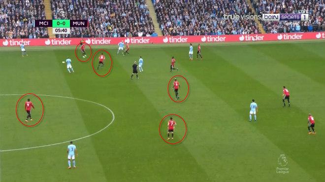 """Góc chiến thuật Man City - MU: Mourinho """"cao tay ấn"""" trị Pep kiêu ngạo - 1"""