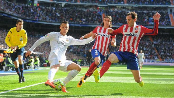 "Real Madrid – Atletico Madrid: ""Mãnh hổ"" Ronaldo, khắc tinh số 1 - 1"