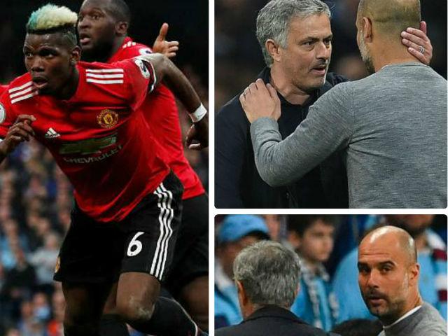 """Góc chiến thuật Man City - MU: Mourinho """"cao tay ấn"""" trị Pep kiêu ngạo"""