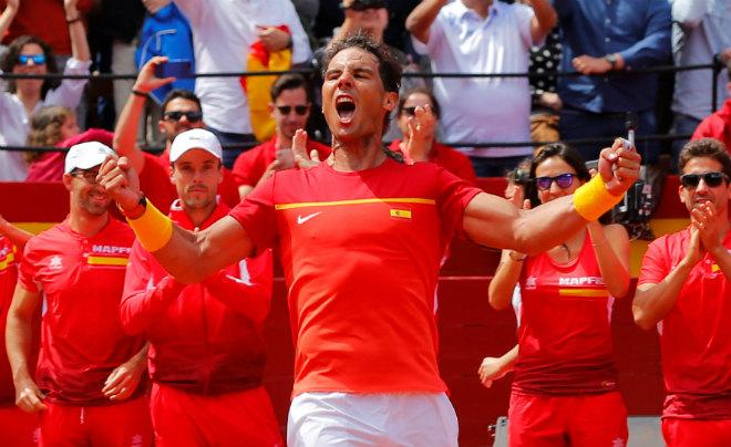 Tin thể thao HOT 9/4: Nadal và ĐT Tây Ban Nha gặp khó ở bán kết Davis Cup - 1